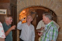 wine tasting and self guided walking holiday beaujolais